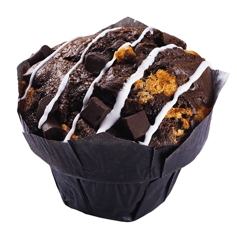 BLACK LABEL CHOCOLATE OVERKILL MUFFINS