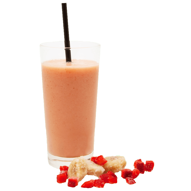 SMOOTHIE TROPICAL AARDBEI-BANAAN