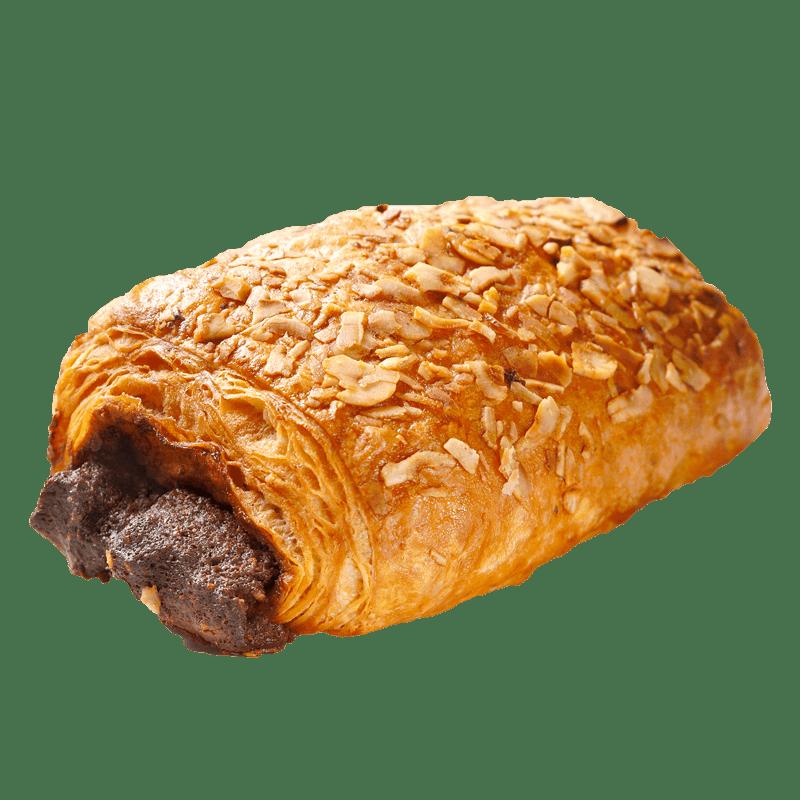 CHOCOLATE-HAZELNUT PUFF-PASTRIES