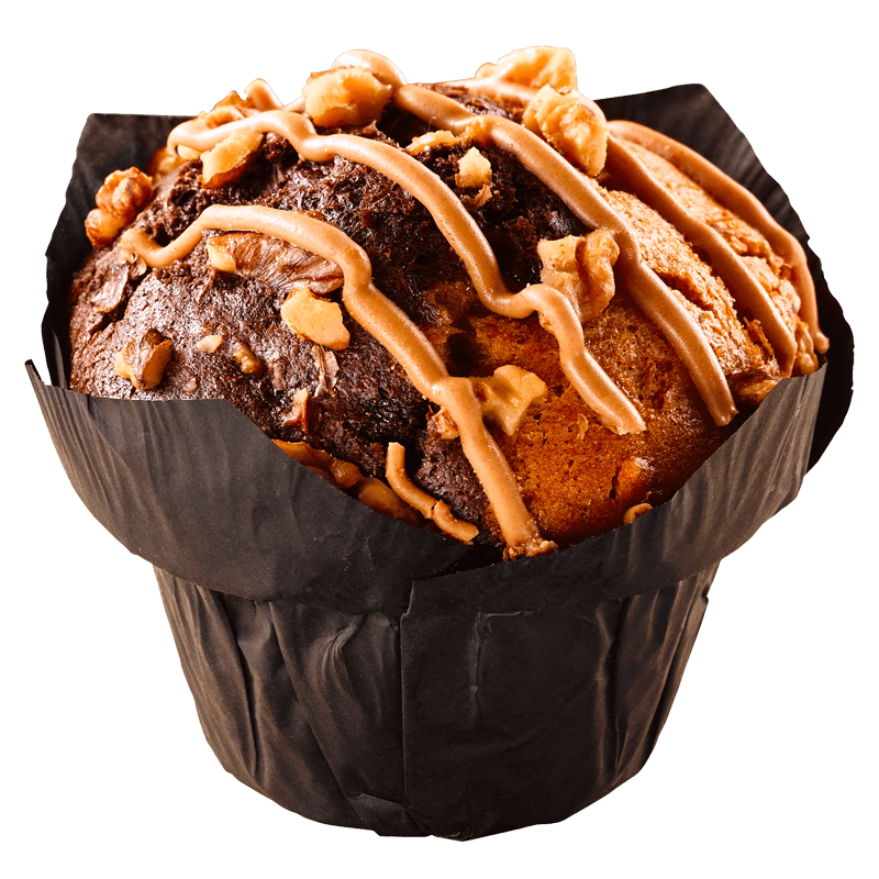 BLACK LABEL SALTY CARAMEL MUFFINS