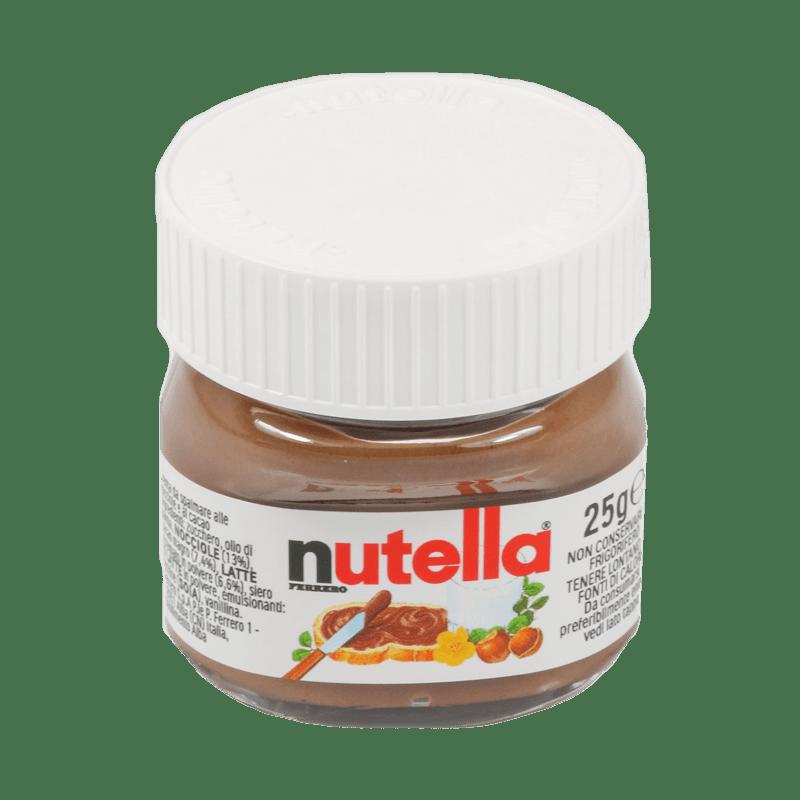 MINI NUTELLA POTJES